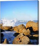 Sea Splash Canvas Print