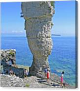 Sea Stack Perspective Canvas Print