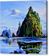 Sea Stack Serenity Canvas Print