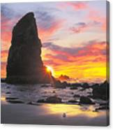 Sea Stacks Canvas Print