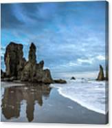 Sea Stacks Canvas Print