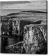 Sea Stacks, Yesnaby, Orkney, Scotland Canvas Print