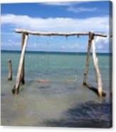 Sea Swing Canvas Print