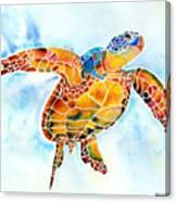 Sea Turtle Gentle Giant Canvas Print