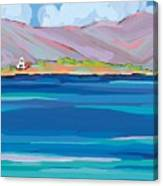 Sea View Galaxidhi Canvas Print