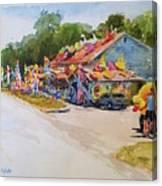 Seaberry Surf Gifts, Wellfleet Canvas Print