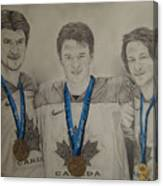 Seabrook Toews Keith Gold Medal Canvas Print