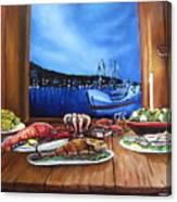 Seafood Feast Canvas Print