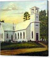 Seaford Zion Methodist Church Canvas Print