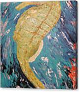 Seahorse Number 2 Canvas Print