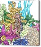 Seahorse Sanctuary  Canvas Print