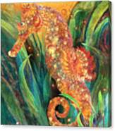 Seahorse - Spirit Of Contentment Canvas Print