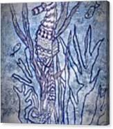 Seahorse World Canvas Print
