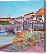 Seahouses IIi Canvas Print