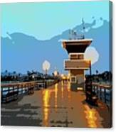 Seal Beach Evening  Canvas Print