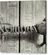Seal Of Tutankhamun's Tomb  Canvas Print