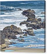 Seal Rock Seascape Canvas Print