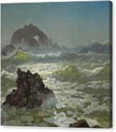 Seal_rock,_california Canvas Print