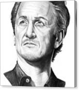 Sean Penn Canvas Print