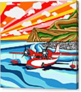 Seaplane 2 Canvas Print