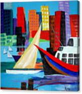 Seaport Canvas Print