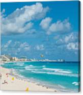 Search Vacations Online Canvas Print