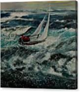 Seascape 97 Canvas Print