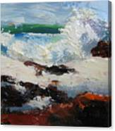Seascape Aceo  Canvas Print