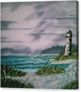 Seascape Lighthouse Canvas Print