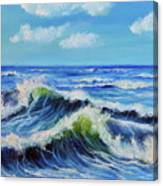 Seascape No.3 Canvas Print