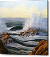 Seascape Study 1 Canvas Print