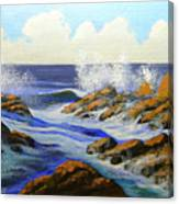 Seascape Study 2 Canvas Print