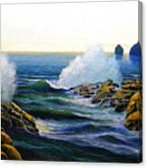 Seascape Study 3 Canvas Print