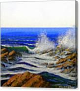 Seascape Study 4 Canvas Print