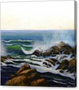 Seascape Study 5 Canvas Print