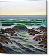 Seascape Study 6 Canvas Print