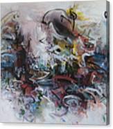 Seascape206 Canvas Print