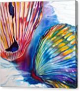 Seashell Abstract II Canvas Print