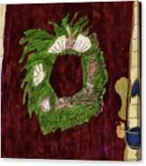 Seashell Wreathe Canvas Print