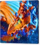 Seashells Abstract Canvas Print
