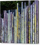 Seashore Fence Canvas Print