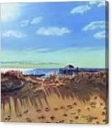 Seashore Shadows Canvas Print