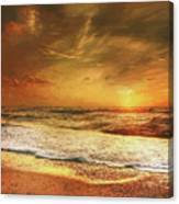 Seashore Sunset Canvas Print