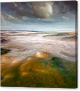 Seaside Abstraction Canvas Print