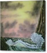 Seaside Cliffs Canvas Print
