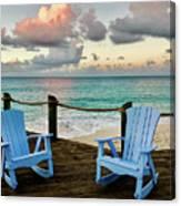 Seaside In Antigua Canvas Print