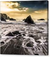 Seaside L/r Canvas Print