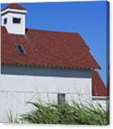 Seaside Schoolhouse Canvas Print