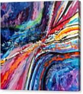 Seaside Squared Canvas Print