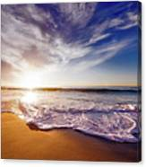 Seaside Sunset Canvas Print
